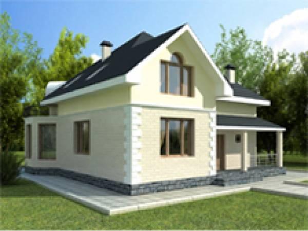 Проекты коттеджей общей площадью от 150 до 200 м2.