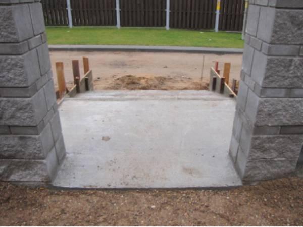 Строительство бетонных лестниц, маршей для домов и дач, -строительство заборов из блоков бессер, -аренда фронтального...